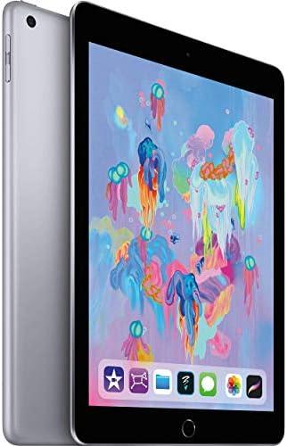 "Apple 9.7"" iPad (Early 2018, 32GB, Wi-Fi Only, Space Gray) MR7F2LL/A (Renewed)"
