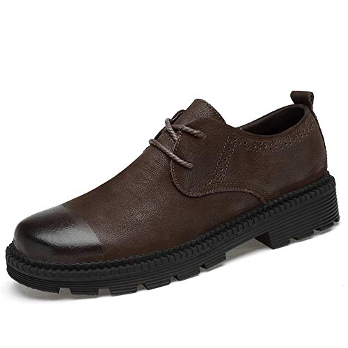 optional e Classic Basse Low 2018 Per Outdoor Fashion Stringate Scarpe in vivere convenzionale Shoes Cotton Men's e casa Warm Marrone Soft compagnia Top camminare Formal AAZYw