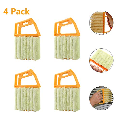 - Blind Cleaner Tool,Window Blind Brush Handheld Air Conditioner Shutters for Plantation Blinds Duster Dirt Cleaner Housework Tool Washable
