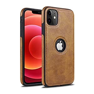 Excelsior Back Cover For Apple iPhone 12 Pro;Apple iPhone 12 Faux Leather ( Brown )