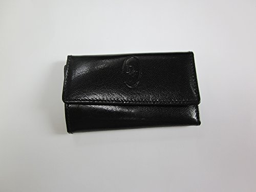 - Christian Dior Men's Key Case, Black Leather, 4 inches long x 2 1/2