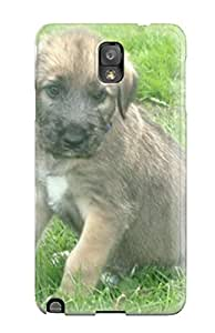 Viktoria Metzner's Shop 2121836K42708895 Tpu Case Cover Compatible For Galaxy Note 3/ Hot Case/ Irish Wolfhound Puppies