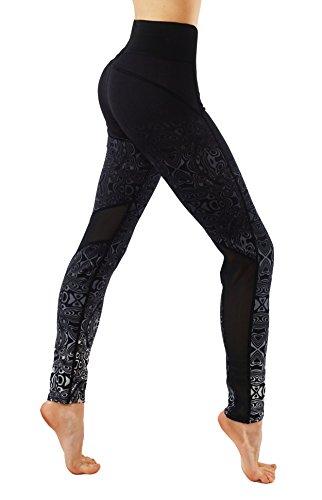 CodeFit Dry Fit Workout Leggings CF6219 Black product image