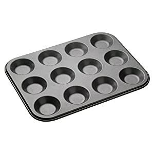 Shallow Bun Tin-Non Stick - 32x24cm - Tarts & Mince pies (Pack of 4)