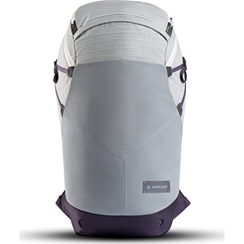 Heimplanet Motion Ellipse 25L Laptop Backpack One Size Light Grey Purple
