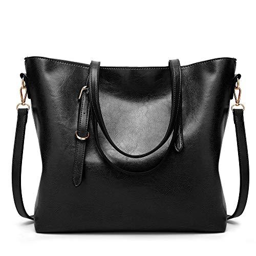 Bolso Black Señoras Simple Oblicuo Femenino Cruza De Hombro Ratbag Prepucio Cientos Moda Las Señora Solo 5ROxwH6