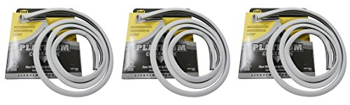 M-D Building Products 91890 Platinum Collection Replacement Door Weatherstrip, 84-Inch (3 PACK) by M-D Building Products