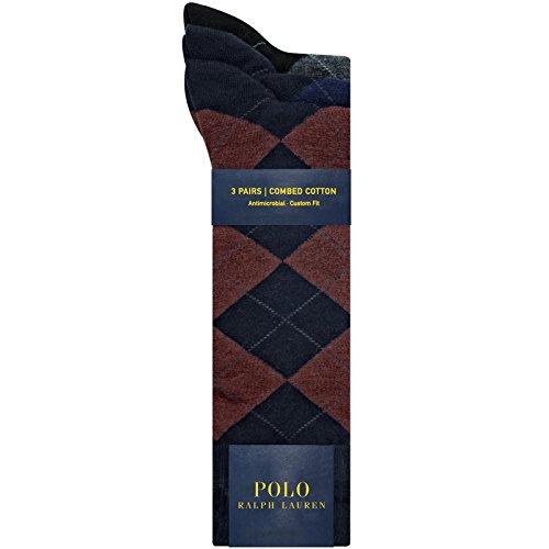 Polo Ralph Lauren Men's Socks Argyle One Size