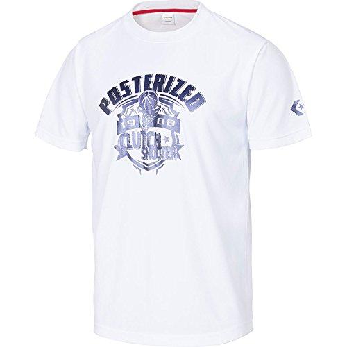 デジタル足首誇張converse(コンバース) 8S プリントTシャツ バスケットTシャツ (cb281309-1100)