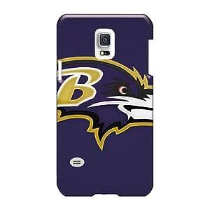 ErleneRobinson Samsung Galaxy S5 Mini Shock-Absorbing Hard Phone Case Customized Fashion Baltimore Ravens Skin [EzB732Addo]