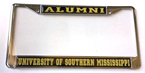 Price comparison product image USM University of Southern Mississippi Alumni Car Tag License Frame