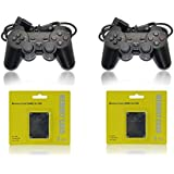 2 PS2 Controllers / 2 Playstation 2 Memory Cards
