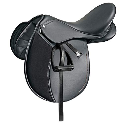 EEKUY Saddle Equestrian Supplies Full Grain Buffalo Integrated Saddle