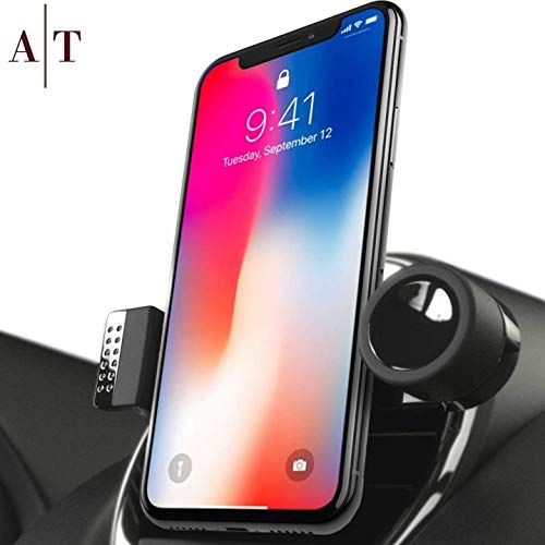 - SALE - Cell Phone Holder For Car Air Vents | 360° Rotation Car Phone Mount, Fits All Smartphones - iPhone X, XR, XS Max, 8, 7, 6, 5, | 6/7/8 Plus | Galaxy S7, S8, S9, Note 9 | Luxury Vent Phone Holder