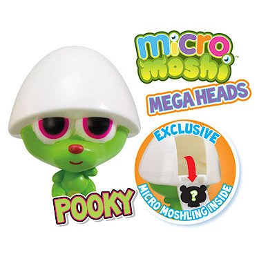 Moshi Monsters Micro Mega Heads - Pooky