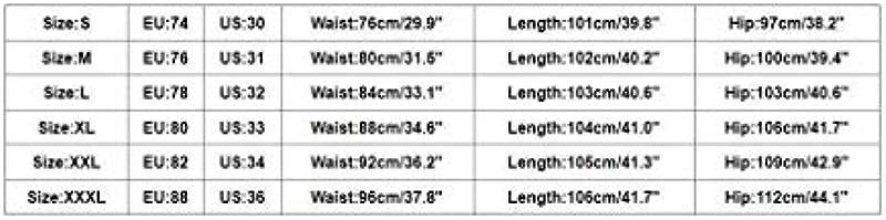 Emmay Männer Męskie Distressed Jeanshose Slim Wesentlich Ripped Ausgefranste Fit Jeans Skinny Stretch Hose Slim Männer Jeanshosen Denim Pants Super Qualität Verschleißfest Keine Verformung: Odzież