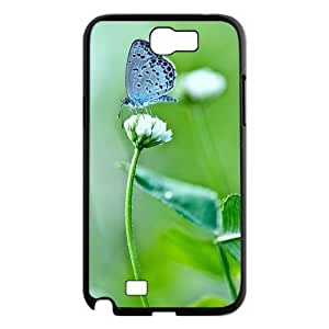 Butterfly Use Your Own Image Phone Case for Samsung Galaxy Note 2 N7100,customized case cover ygtg522936