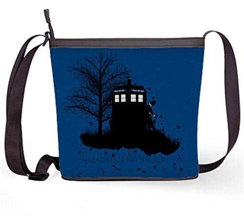 Casual Print Bag Doctor Who Popular Bag Fashion Shoulder Sling and Bag with DW07 Female Bag Crossbody Sling dfnOH
