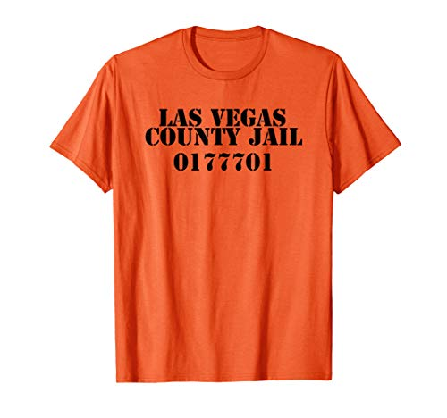 Las Vegas County Jail Inmate Novelty Souvenir Shirt -