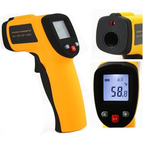 Bestwe Non-Contact Berührungslosen IR Infrared Laser Point Digital Thermometer Infrarot Digital-Thermometer -32 ~ 350 °C (-26 ~ 662 °F)