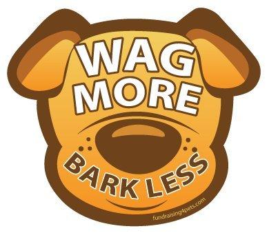 Fundraising4pets DOG106 More Bark Less