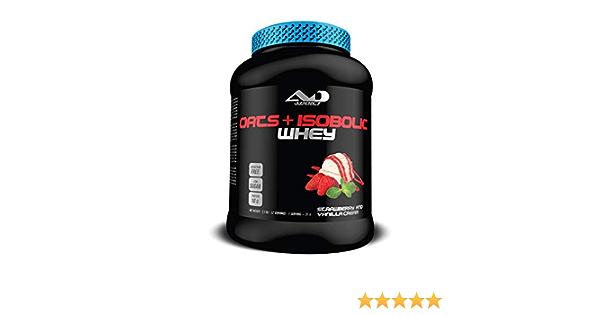 ADDICT SPORT NUTRITION AD - Proteína - Oats + Isobolic Whey - 2,5 kilos - Sabor Strawberry Vanille & cream