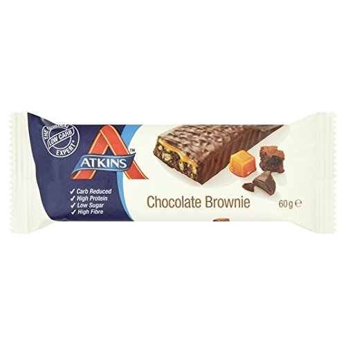 Atkins Advantage Brownie de Chocolate Bar 60g: Amazon.es: Alimentación y bebidas