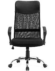 STmeng Liberty T36 Ergonomiskt nät kontorsstol, justerbar höjd datorspelstol med vridbart ryggstöd nackstöd och 3D-armstöd, andas vadderad sits hem arbete skrivbordsstolar