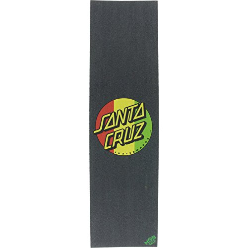 Santa Cruz/Mob Rasta Dot Grip Tape - 9x33 by Santa Cruz