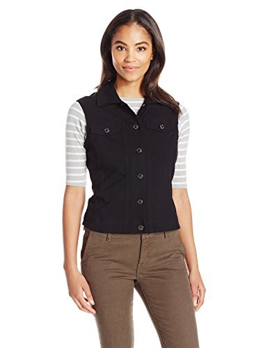 SLIM-SATION Womens Jean Style Twill Vest
