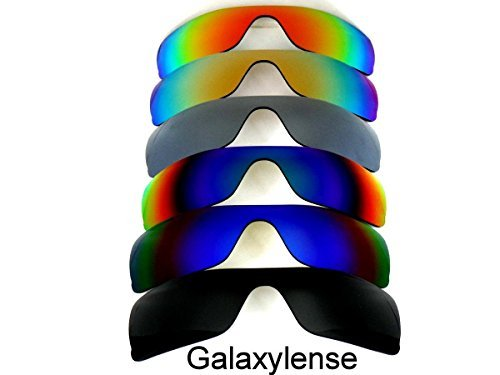 f771cecc28 Galaxy Replacement Lenses for Oakley Batwolf Black Blue Green Gray Gold Red  Color Polarized 6 Pairs