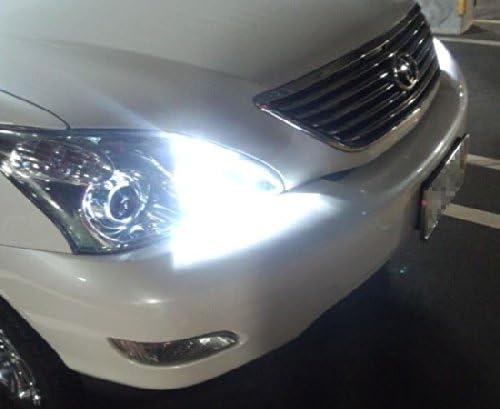 Xenon White 50W 9005 CREE LED High Beam Daytime Running Lights Kit For Lexus Toyota Mazda iJDMTOY 2