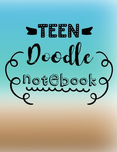Teen Doodle Notebook: Graph Paper Notebook, 8.5 x 11, 120 Grid Lined Pages (1/4 Inch Squares)