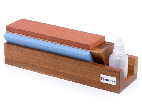 Hone Sharpening Tri System (Tri-Stone Sharpener)