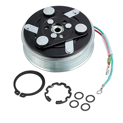 AUTOUTLET AC A/C Compressor Clutch Pulley + Coil +Hub 6PK For 2001-2005 Honda CIVIC 1.7 L ()