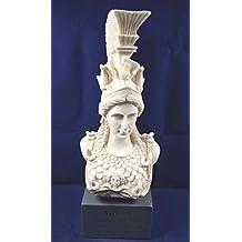 Athena sculpture statue Minerva ancient Greek Goddess museum reproduction bust