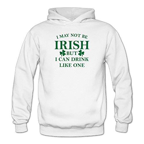 I May Not Be Irish But I Can Drink Women Sporty Hoodies Sweatshirts Sweatshirts Juniors