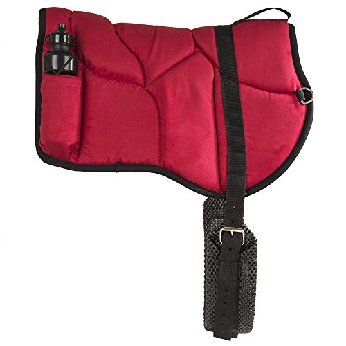 (Best Friend Western Style Bareback Saddle Pad, Red)