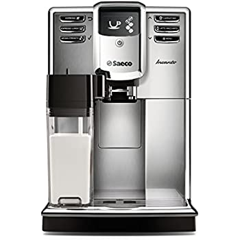 Saeco Incanto Carafe Super Automatic Espresso Machine with AquaClean filter, Stainless Steel, HD8917/48