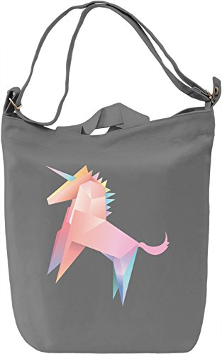 Paper unicorn Borsa Giornaliera Canvas Canvas Day Bag| 100% Premium Cotton Canvas| DTG Printing|