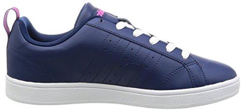 Fitnessschuhe blau Damen adidas Advantage W Vs w0zq6H