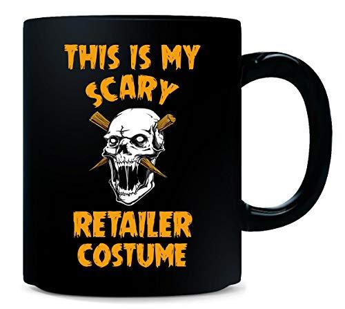 This Is My Scary Retailer Costume Halloween Gift - Mug -
