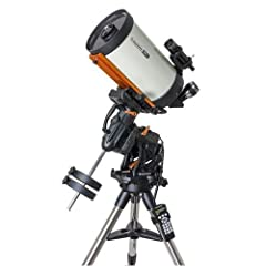 Ready to see the moon and more? Stargazing is fun but why don't you take it up to the next level and become an expert in astronomy today. The Celestron CGX 9.25-inch EdgeHD SCT Go-To Telescope allows you to have your very own backyard ...