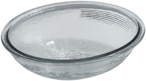 Kohler 2741-B11 Glass undermount Round Bathroom Sink, 24.07 x 20.57 x 9.89 inches, Ice