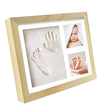 Bilderrahmen Baby Fur Fussabdruck Und Handabdruck Geschenk Set Zur