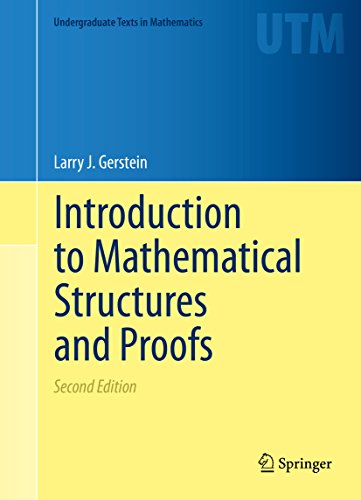 Introduction to Mathematical Structures and Proofs (Undergraduate Texts in Mathematics) (Analysis With An Introduction To Proof Ebook)