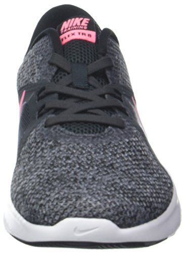 8 Da anthracite Nike cool Donna W Scarpe Ginnastica black Multicolore Grey 001 Basse Trainer Pulse Flex sunset rRXtHcX
