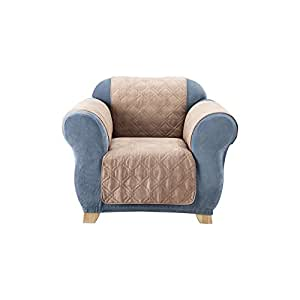 Amazon.com: Sure Fit Quilted Ante Loveseat Pet Throw ...