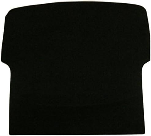 Black Trim Black Carpet Sakura WW9638 Tailored Boot Mat