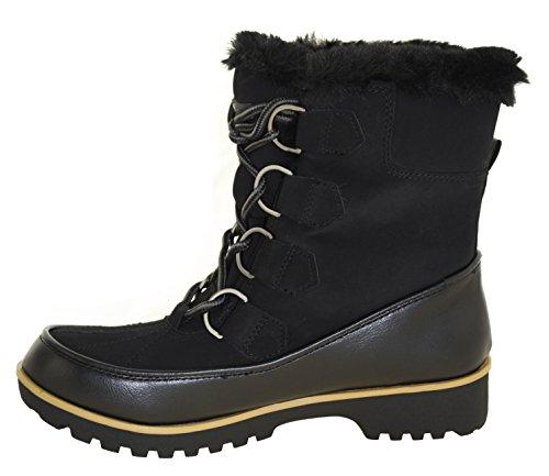 Jbu By Jambu Womens Manchester Winter Boots Black
